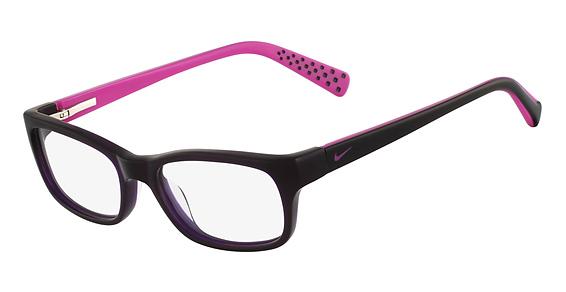 Nike 5513 Eyeglasses, (515) Concord/Fuchsia