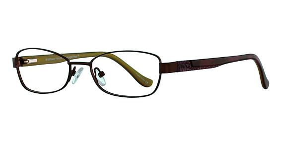 Nicole Eyeglasses, Teal Frills