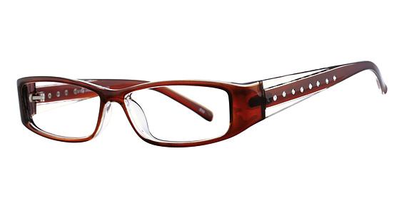 SMART S 7000 Eyeglasses, Dark Brown