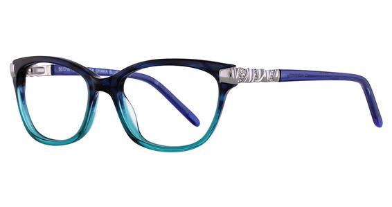 Dhaka Eyeglasses, BROWN ROSE HORN -  Ellen Tracy