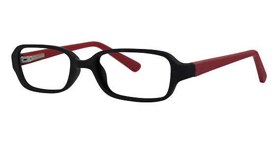 Laugh Eyeglasses, black/brick matte