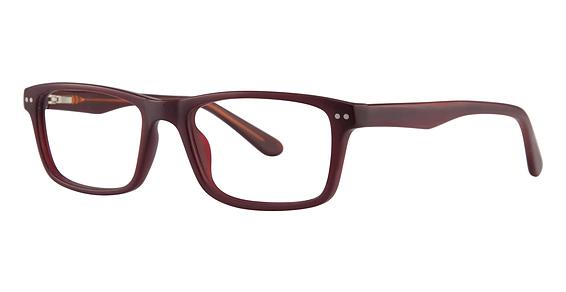 Acoustic Eyeglasses, maroon matte