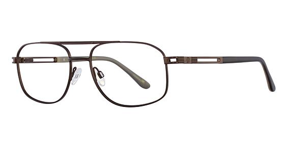 Stetson XL 24 Eyeglasses, Brown