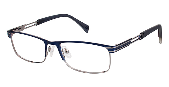 Champion 1011 eyeglasses are designed for men featuring spring hinges. The Champion 1011 eyeglasses model is made of metal and manufactured in China.