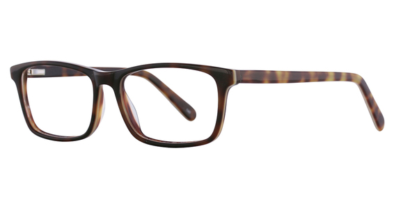 Brentwood Eyeglasses, Demi-amber / Blue