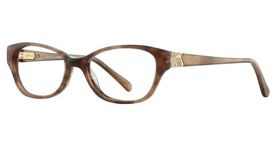 Durahinge 47 Eyeglasses, Rose Horn