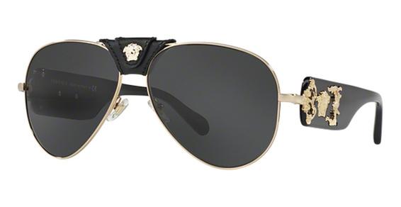 VE 2150Q Sunglasses, Gold