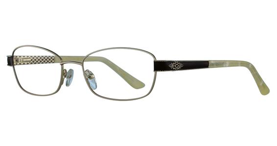 1069 Eyeglasses, Gunmetal / Emerald