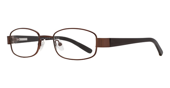 SMART S 7254 Eyeglasses, Chocolate