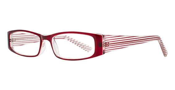 STAR ST 6155 Eyeglasses, Burgundy/Crystal