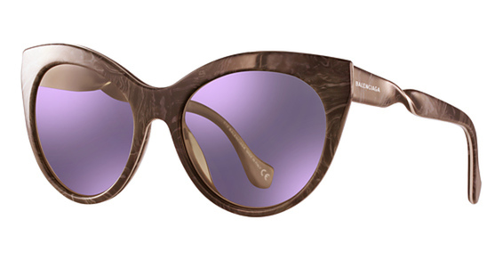 BA 0051 Sunglasses, Shiny Bordeaux