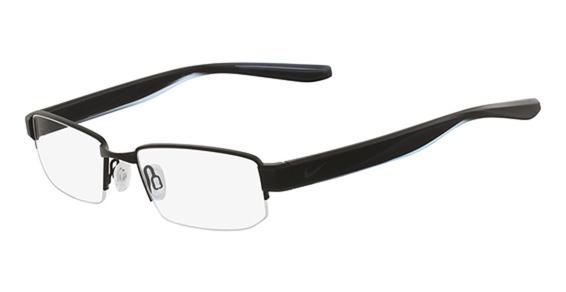 NIKE 8170 Eyeglasses, (002) Satin Black