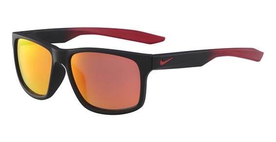 NIKE ESSENTIAL CHASER R EV 0998 Eyeglasses, (006) Mt Black/R Grad W/Ml Rd Lens