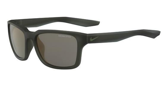 NIKE ESSENTIAL SPREE R EV 1004 Eyeglasses, (305) Mt Khaki W/Grey Tri Cop Lens