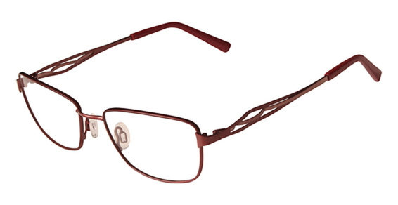 FLEXON JEAN Eyeglasses, (604) Burgundy