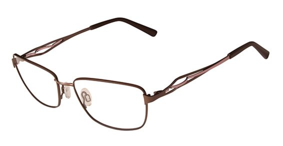 FLEXON JEAN Eyeglasses, (210) Brown