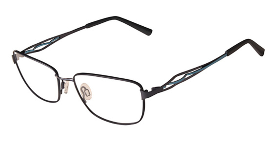 FLEXON JEAN Eyeglasses, (324) MIDNIGHT TEAL