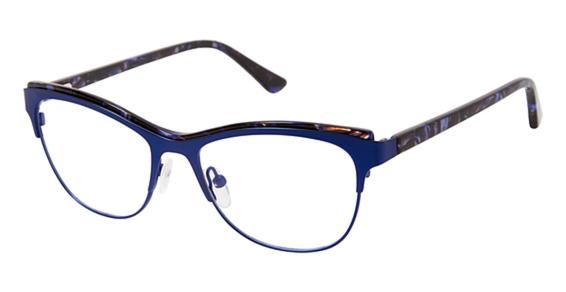 Image of 1007 Eyeglasses, Navy / Blue