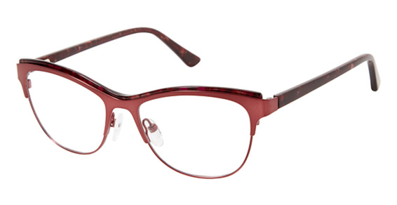 Glamour Editor's Pick 1007 eyeglasses are designed for women featuring spring hinges. The Glamour Editor's Pick 1007 eyeglasses model is made of metal and manufactured in China.