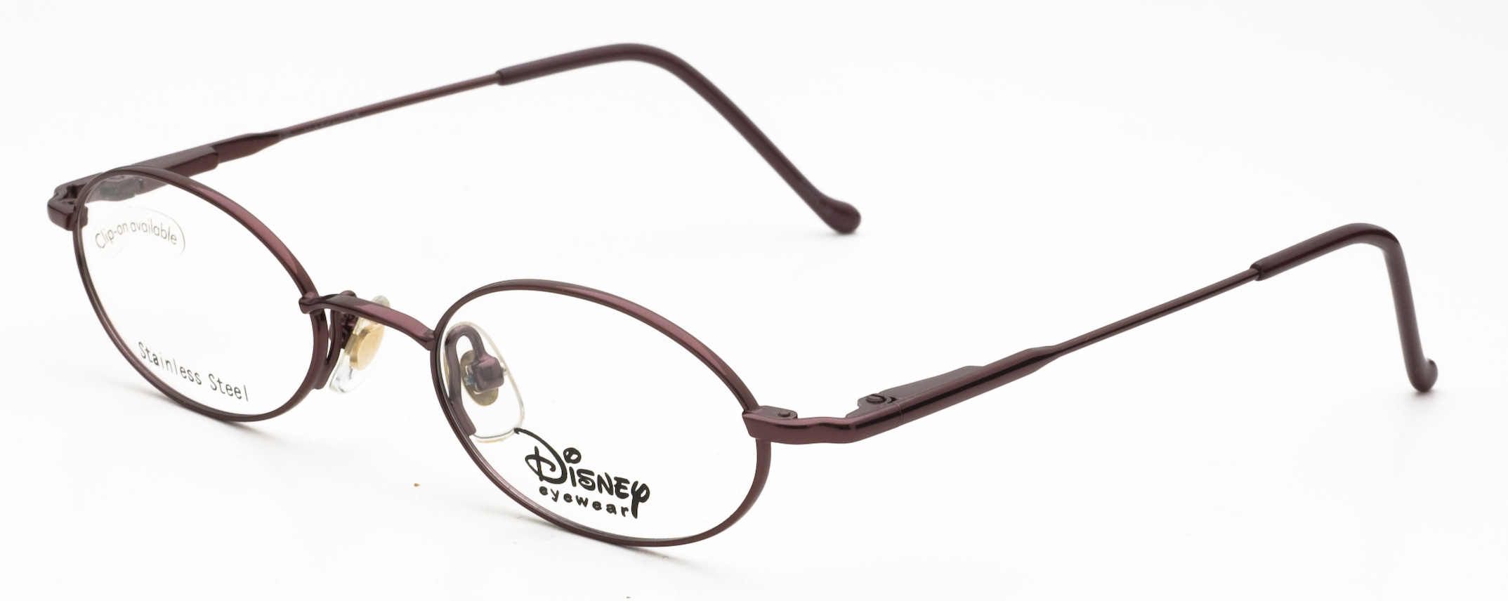 Image of Disney Eyewear 82 Eyeglasses, Burgundy