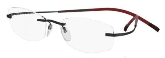 7581-4248 Eyeglasses, Black Red Passion