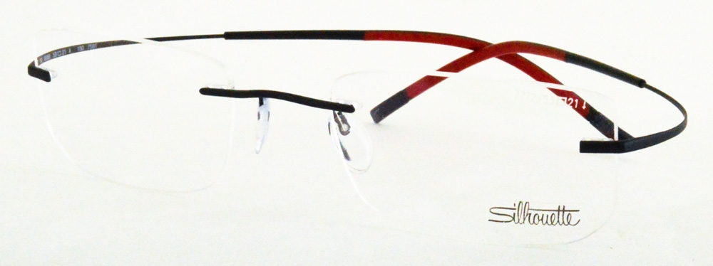 7581-7772 Eyeglasses, Brown Green  Leaves