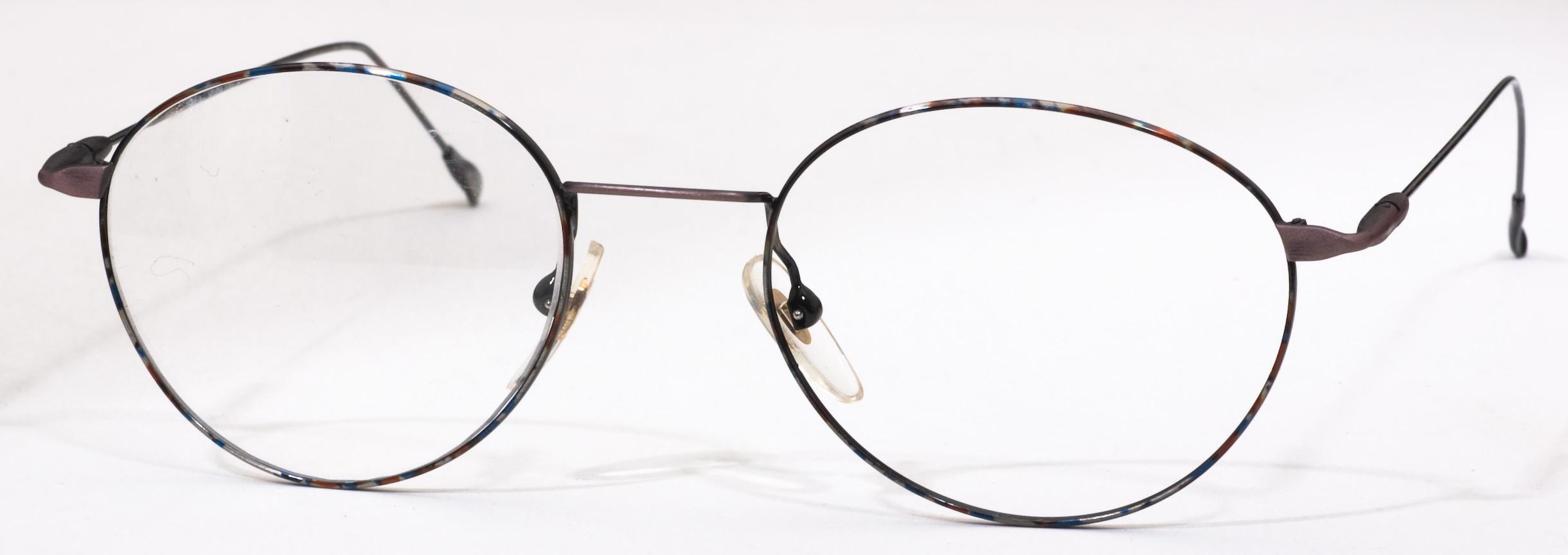 810 Eyeglasses, Brown Multi c5