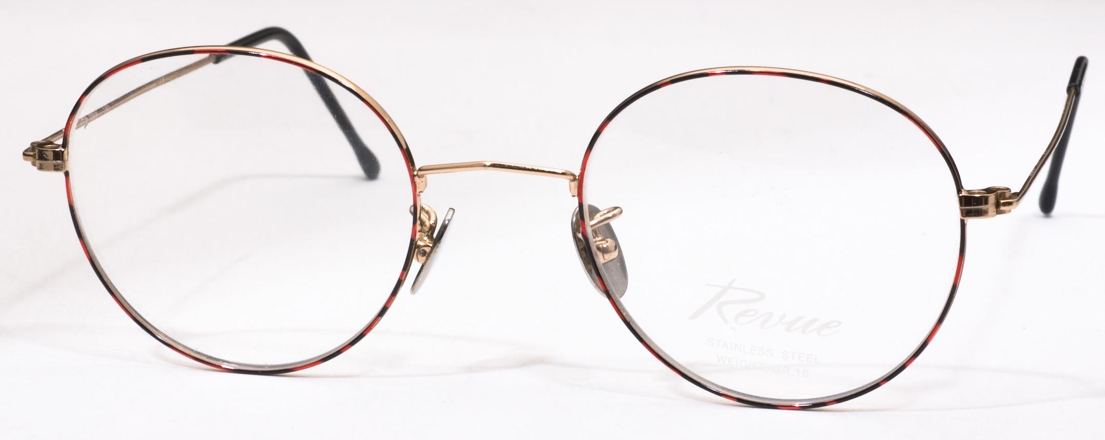 818 Eyeglasses, Gold/Demi Amber c3