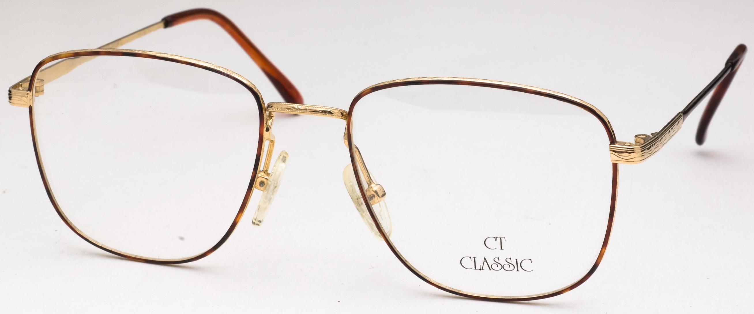 CT 43 Eyeglasses, Tortoise/Gold
