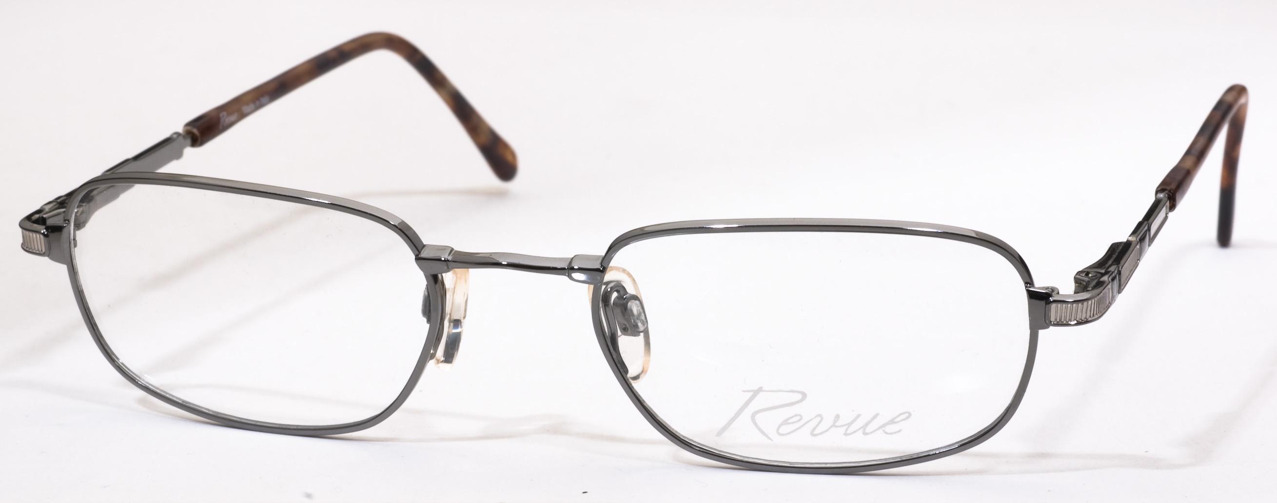 871 Eyeglasses, Shiny Gunmetal/Tortoise c818