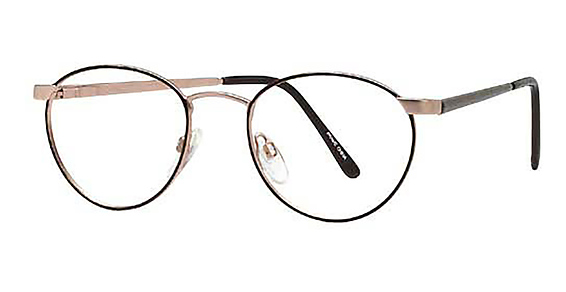 Image of NA-18 Eyeglasses, Demi Brown Antique Yellow