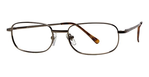 Leo Eyeglasses, Gold