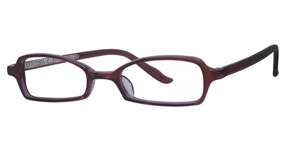 U-20 Eyeglasses, Black Crystal