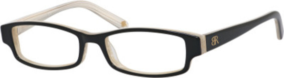 Image of Allie Eyeglasses, Black Horn