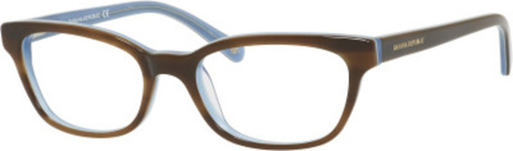 Image of Ania Eyeglasses, Havana Blue