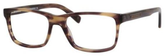 Cody Eyeglasses, Brown Striated