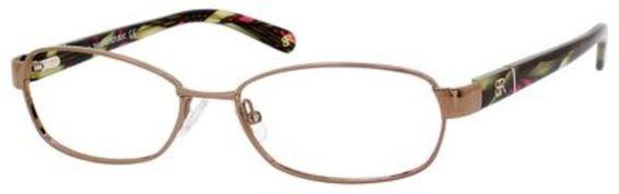 Eleana Eyeglasses, Almond / Demi Green