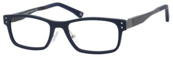 Gage Eyeglasses, Matte Navy