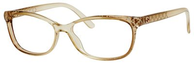 Gucci 3699 Eyeglasses, Beige Diamond