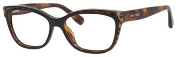 Jimmy Choo 146 Eyeglasses, Animal Havana