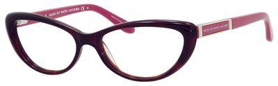 MMJ 570 Eyeglasses, Havana Fuchsia