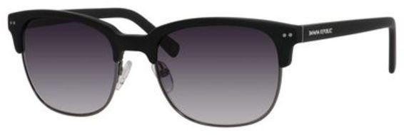 Xavier/S Sunglasses, Black / Ruthenium