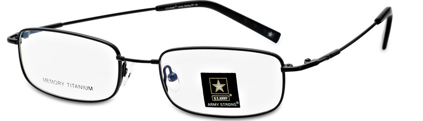 Army Strong 1 Eyeglasses, Gunmetal