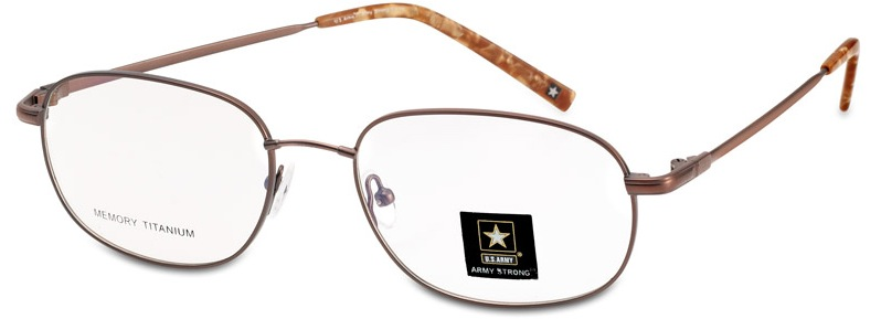 army Strong 5 Eyeglasses, Brown