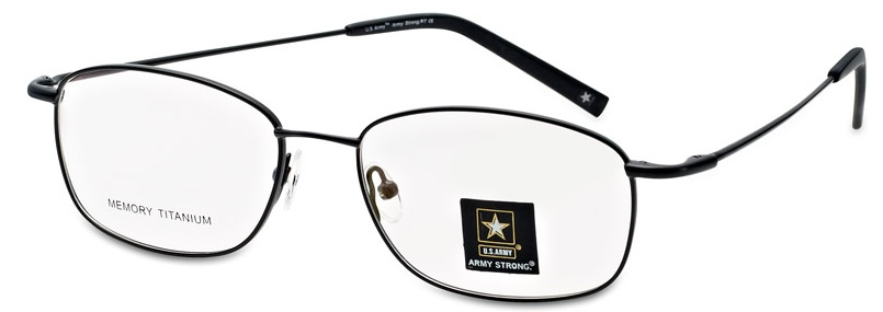 Army Strong 7 Eyeglasses, Gunmetal
