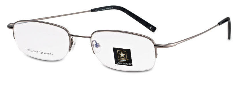 Army Strong 8 Eyeglasses, Brown