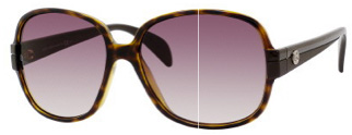 758/S Sunglasses, Havana Dark Brown w/Brown Gradient Lenses