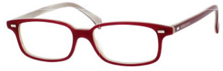 787 Sunglasses, Red Horn