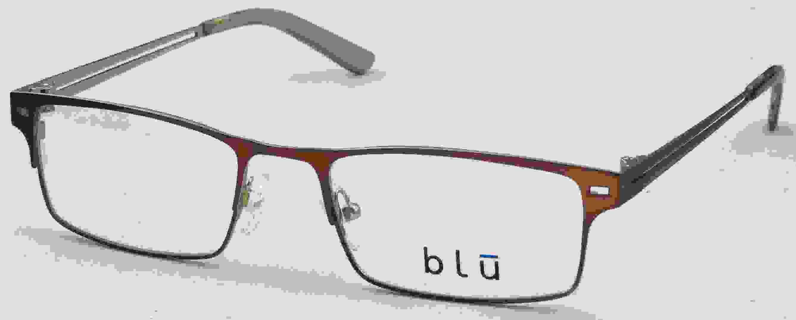 Blu 112 Eyeglasses, Brown