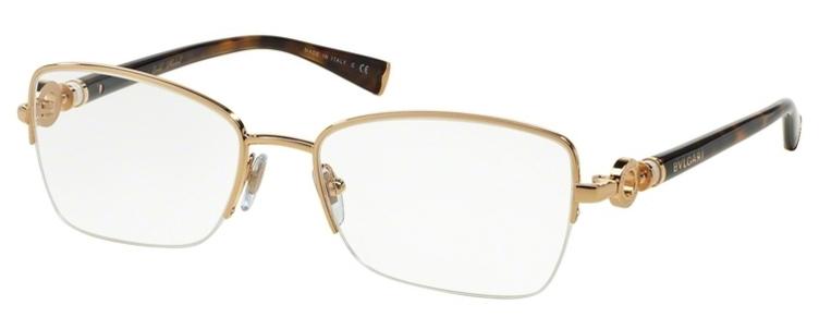Image of BV 2161K Eyeglasses, Gold Plated